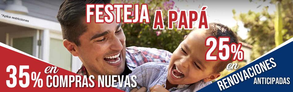 Promocion especialistas hosting dia del padre 2019