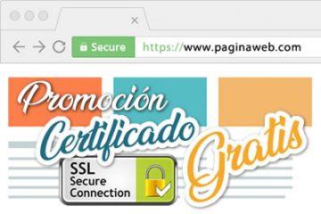 promocion certificado de seguridad gratuito ssl